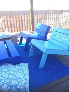 Pation Chairs DIY: Outdoor Pallet Patio Set in pallets 2 furniture  with Terrace patio Pallets outdoor Furniture DIY