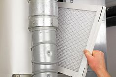 Importance of Regularly Changing Your HVAC System's Air Filters. Change your HVAC system's air filters regularly so they can effectively catch and trap dust, dirt, allergens, hair, and other particles that float in the air. Hvac Filters, Furnace Filters, Home Furnace, Le Pollen, Meme Design, Home Scents, Home Upgrades, House Smells, Home Repairs