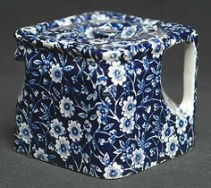 Square teapot by burleigh