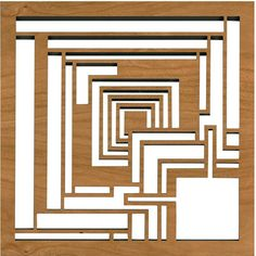 """Frank Lloyd Wright Ennis Block Trivet - The design featured on this trivet is adapted from the concrete """"textile"""" blocks that comprise the Charles Ennis House in Los Angeles, California. Designed by Frank Lloyd Wright in Frank Lloyd Wright, Modern Architecture Design, Modern House Design, Modern Interior Design, Wisconsin, Ennis House, Chicago Architecture Foundation, Pattern Texture, Arts And Crafts Movement"""