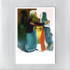 Arcabas Visitation Painting, Jesus Painting, Artist, Painting Art, Paintings, Painted Canvas, Drawings