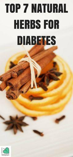 TOP 7 Natural Herbs For Diabetes - Cinnamon