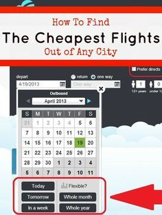 How to Find a Cheap Flight to Any Destination