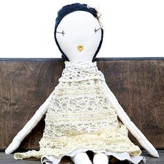 yep. lucy asked if santa could make this $180 rag doll for her for christmas. good luck with that, santa.