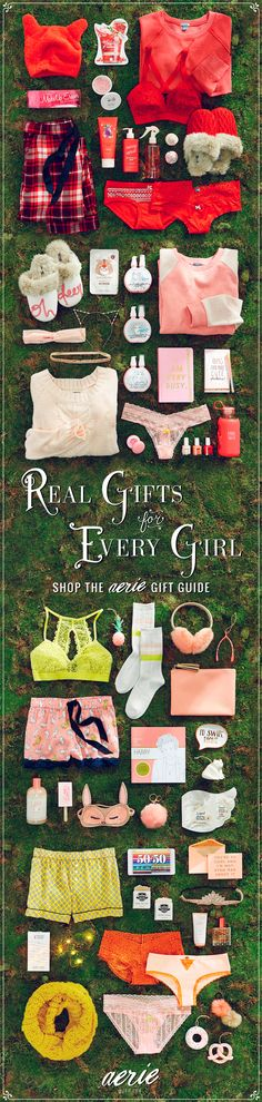 Find special somethings for any princess at Aerie.com/giftguide