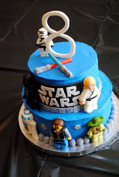 lego star wars old republic cake | My boys had their first lesson on Star Wars characters. Jonas was ...