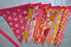 Bunting Banner from Giddy Gumdrops