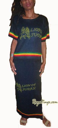Lion of Judah ethiopian set