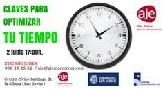 Calendario - CLAVES PARA OPTIMIZAR TU TIEMPO DE TRABAJO