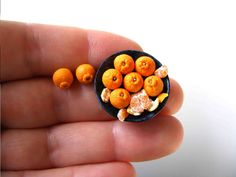 Sumo citrus - Miniature in 1:12 by Erzsébet Bodzás, IGMA Artisan   eBay