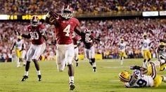 Remember the last time Bama was at Death Valley? - TJ Yeldon in 2012 helps Alabama win thriller at LSU