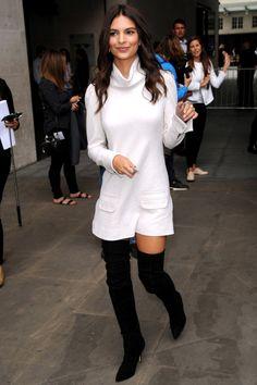 Emily Ratajkowski #TheList: Wear White After Labor Day  - HarpersBAZAAR.com