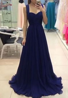 Prom Gown,Royal Blue Prom Dresses,Royal Blue Evening Gowns,Party