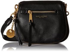 Marc Jacobs Recruit Small Saddle Bag Cross Body Black -- Check this awesome product by going to the link at the image.