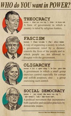 Democratic Socialism: government by the people, for the people.
