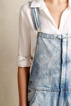 Current/Elliott Ranchhand Overalls - anthropologie.com #anthrofave #anthropologie