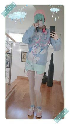 Fairy kei boy | Lolita/emo/pastel goth/fairy kei/korean fashion outfit and more 3 | Pinterest ...