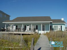 Vacation Rental Surf City-South of Bridge Oceanfront | TURTLE'S NEST
