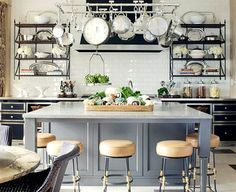 Kitchen Inspiration Month: Floor to Ceiling Subway Tile