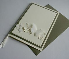 Wedding Invitations with Beautiful Butterfly Embosslit