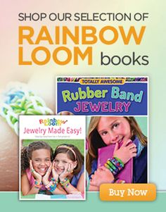 Rainbow Loom books available to purchase online from Michaels #MichaelsRainbowLoom