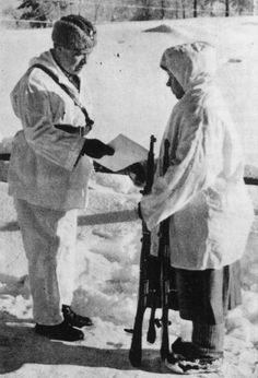 The great Finnish marksman Simo Häyhä, one of the best known heroes of the Winter War. A member of the Civil Guard before the war, he was called up and proved his worth with a rifle, being credited with 505 kills in just under 100 days, making him...pin by Paolo Marzioli
