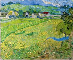 Gogh, Vincent van (Dutch, 1853-1890) - 'Les Vessenots' en Auvers - 1890