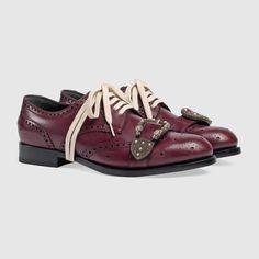 Gucci Queercore brogue shoe Detail 2