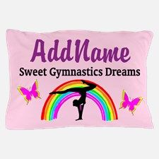 GYMNASTIC DREAMS Pillow Case Calling all Gymnasts! The best selection of personalized Gymnastics Tees and Gifts. Shop and Save. Take 20% Off Your Order Use Code: BEADS20 http://www.cafepress.com/sportsstar/10114301 #Gymnastics #Gymnast #WomensGymnastics #Lovegymnastics #Personalizedgymnast