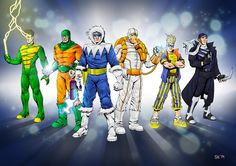 Flash Rogues by stefankarlsson