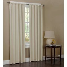 The Maytex Microfiber Window Panels - x in. - Pack of 2 is made of lightweight polyester microfiber so it lays beautifully. Perfect for any. Curtains And Draperies, Short Curtains, Cotton Curtains, Thermal Curtains, Window Curtains, Velvet Drapes, Curtain Patterns, Custom Drapes, Window Panels