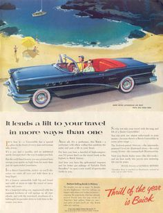 Buick Thrill Of The Year 1955 - Mad Men Art: The 1891-1970 Vintage Advertisement Art Collection