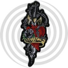 Lethal Threat embroidered patches are the most detailed and sought after patches in the Biker market place. Each patch has a heat seal backing for iron on appli Wild Hearts, Patches, Mini, Accessories, Jewelry Accessories
