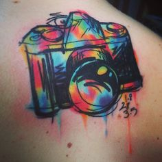 Beautiful tattoo idea. I don't know if I'd ever get a tattoo this big, but a smaller version of this could be cool!