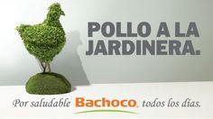 """""""POLLO A LA JARDINERA"""" / Espectacular / Fuente: Bachoco"""