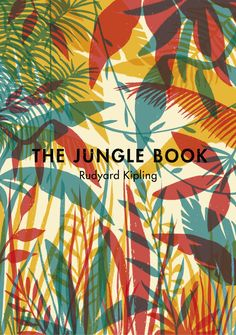 "Madrid-based illustrator Tatiana Boyko's cover for ""The Jungle Book."" Excellent colours and I love her treatment and textural qualities."