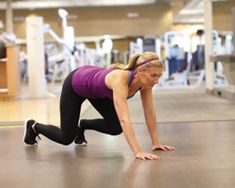 Bear Crawl: Body-Weight Training for Beginners This modified crawling exercise not only strengthens your chest, arms and legs, but also stretches your hips and improves shoulder-girdle stabilization.