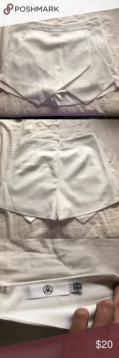 I just added this listing on Poshmark: Missguided White Envelope Skirt size 4. #shopmycloset #poshmark #fashion #shopping #style #forsale #Missguided #Pants