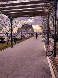 Places to see in a lifetime: Casino in Constanta, Romania Constanta Romania, Places To See, Sidewalk, Side Walkway, Walkway, Walkways, Pavement
