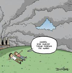 #ConcienciaEco #EcoHumor La contaminación ambiental...