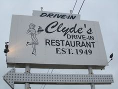 Clyde's Drive-IN in Manistique.  Best burger in the U.P.
