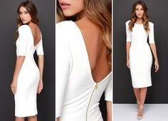 How to choose white dress for civil wedding - The How of Things Civil Wedding Dresses, Wedding Gowns, Formal Dresses, Little White Dresses, Dress Codes, Beautiful Dresses, Marie, Dress Up, Glamour