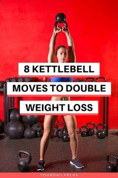 fitness – 8 Kettlebell Exercises For Weight Loss Calorie Burning Overdrive Learn why everyone from professional athletes to your favorite Hollywood celebrities are using these kettlebell exercises in their workouts They're a phenomenal way to[. Weight Loss Meals, Weight Loss Challenge, Losing Weight Tips, Best Weight Loss, Weight Loss Tips, Lose Weight, Lose Fat, Fitness Workouts, Weight Training Workouts