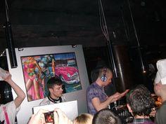 9 Aprile 2009  Glamset private party    vj satoboy collective  dj pio vibe+Scuola furano