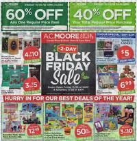A.C. Moore Black Friday Page 1