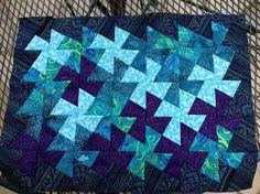twister quilt | Pinwheel Twister Quilt by Kokomorosie | Quilting Ideas