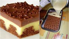 Vanilkový krémeš s najlepším krémom pripravený za 35 minút! Sweet Desserts, Sweet Recipes, Banana Oatmeal Bars, Healthy Cake, Other Recipes, Cupcake Cakes, Sweet Tooth, Sweet Treats, Cheesecake