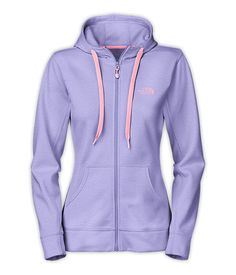 The North Face Women's Best Sellers Shirts & Tops WOMEN'S FAVE-OUR-ITE FULL ZIP HOODIE