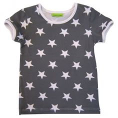 Lyhythihainen paita, D-mitoitus, tähti - valitse väri