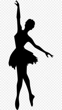 Ballerina Silhouette, Dance Silhouette, Silhouette Clip Art, Silhouette Drawings, Silhouette Painting, Girly Drawings, Art Drawings Sketches Simple, Pencil Art Drawings, Ballerina Kunst